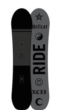 Ride Snowboard's Women's All Mountain Freestyle Hellcat Snowboard Hellcat All Mountain Freestyle Snowboard