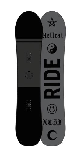 Ride Snowboard's Women's All Mountain Freestyle Hellcat Snowboard Hellcat All Mountain Freestyle Snowboard 143