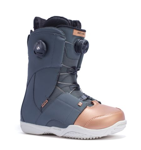 RIDE Snowboard's Women's All Mountain Freestyle Boa Hera Snowboard Boots Hera All Mountain Freestyle Snowboard Boots ROSE GOLD