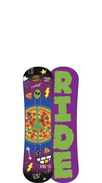 Ride Snowboard's Kids All Mountain Freestyle Lowride Snowboard Lowride All Mountain Freestyle Snowboard