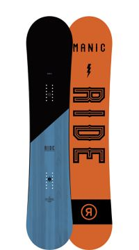 Ride Snowboard Men's All Mountain Manic Wide Snowboard Manic Wide All Mountain Snowboard