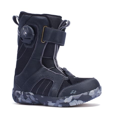RIDE Snowboard's Kid's All Mountain Boa Norris Snowboard Boots Norris All Mountain Snowboard Boots BLACK