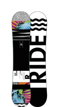 Ride Snowboard's Women's All Mountain Freestyle Rapture Snowboard Rapture All Mountain Freestyle Snowboard