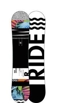Ride Snowboard's Women's All Mountain Freestyle Rapture Snowboard Rapture All Mountain Freestyle Snowboard