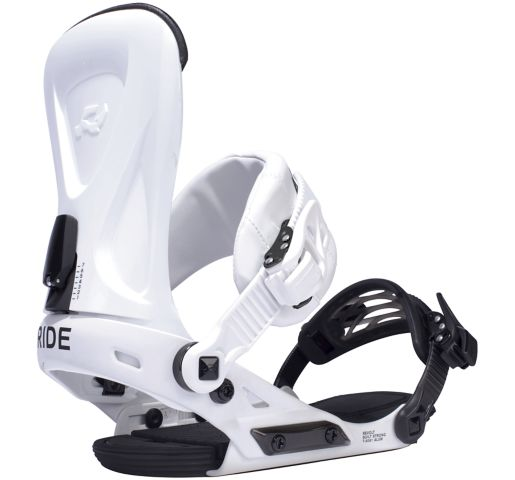 RIDE Snowboard's Men's All Mountain Freestyle Revolt Snowboard Bindings Revolt All Mountain All Mountain Freestyle Snowboard Bindings WHITE