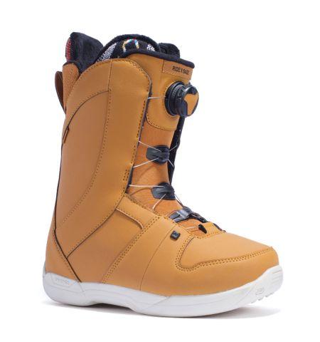 RIDE Snowboard's Women's All Mountain Boa Sage Snowboard Boots Sage All Mountain Snowboard Boots MUSTARD