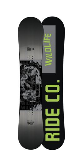 Ride Snowboard Men's All Mountain Wild Life Snowboard Wild Life All Mountain Snowboard 151