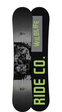 Ride Snowboard's Men's All Mountain Wild Life Wide Snowboard Wild Life Wide All Mountain Snowboard