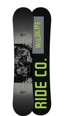Ride Snowboard's Men's All Mountain Wild Life Wide Snowboard Wild Life Wide All Mountain Snowboard 159W