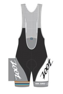 "Men's Kona Cycle 9"" Bib"