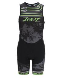 Men's Performance Tri Team Back Zip Racesuit