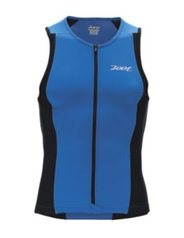 Men's Performance Tri Full Zip Tank