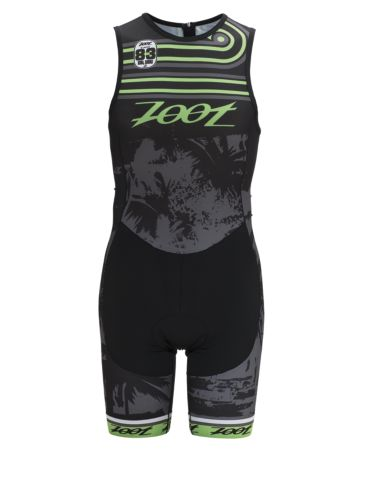 Men's Performance Tri Team Back Zip Racesuit