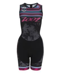 Women's Performance Tri Team Back Zip Racesuit