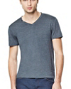 Claey V Tee in Plaito Silk Blend
