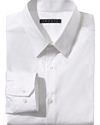 Dover Point Dress Shirt in Sword Stretch Cotton