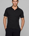 ESKIL C Polo in Stay Stretch Cotton