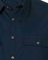 Klippe Stretch Cotton Button-Down Shirt
