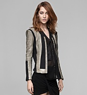 RIFT STRETCH LEATHER JACKET