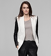 REVERSE COMBO ERA SUITING BLAZER