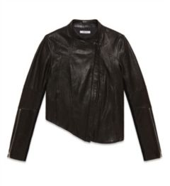 BLISTERED LEATHER JACKET