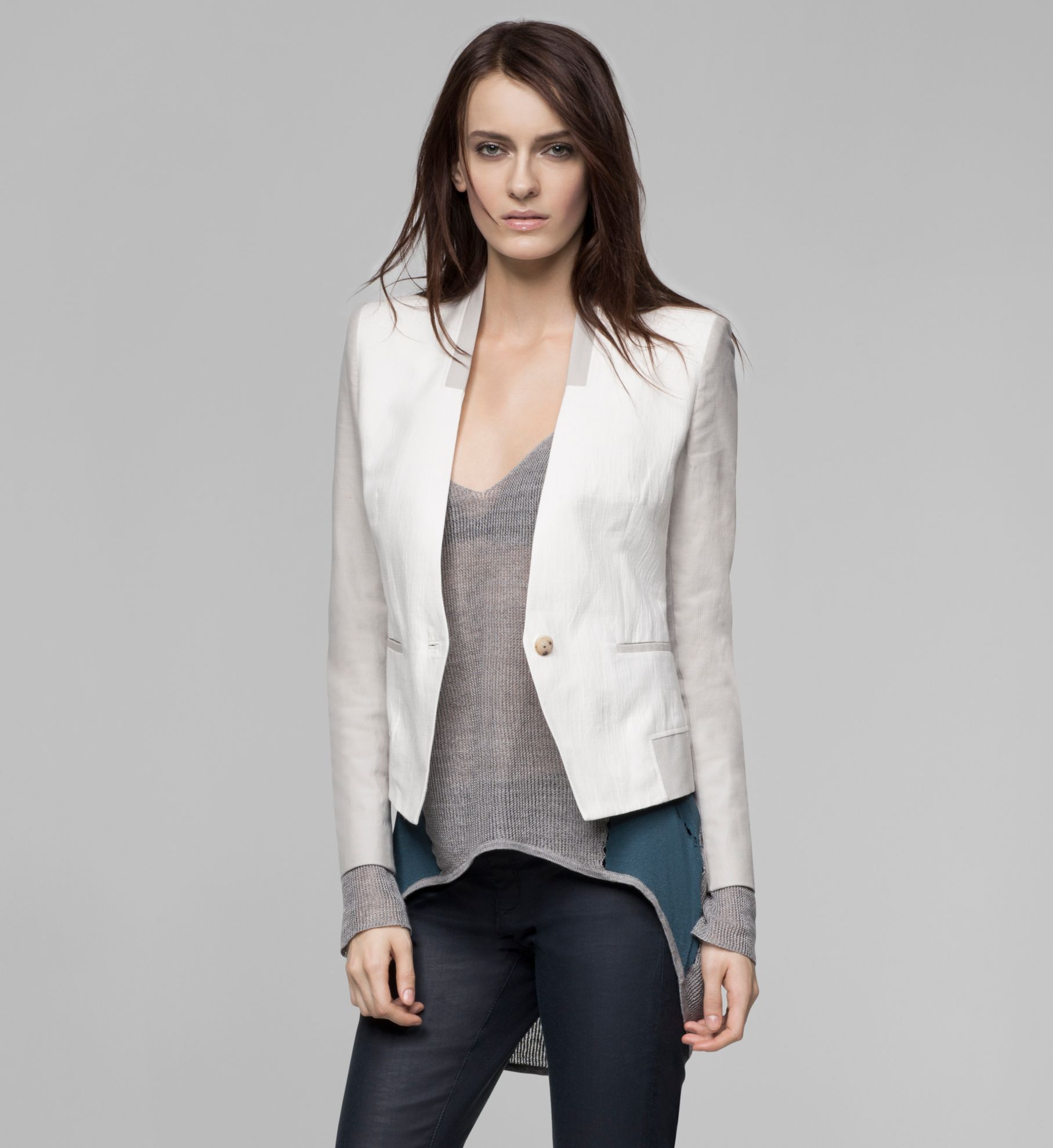 QUARRY SUITING PRINT BLAZER