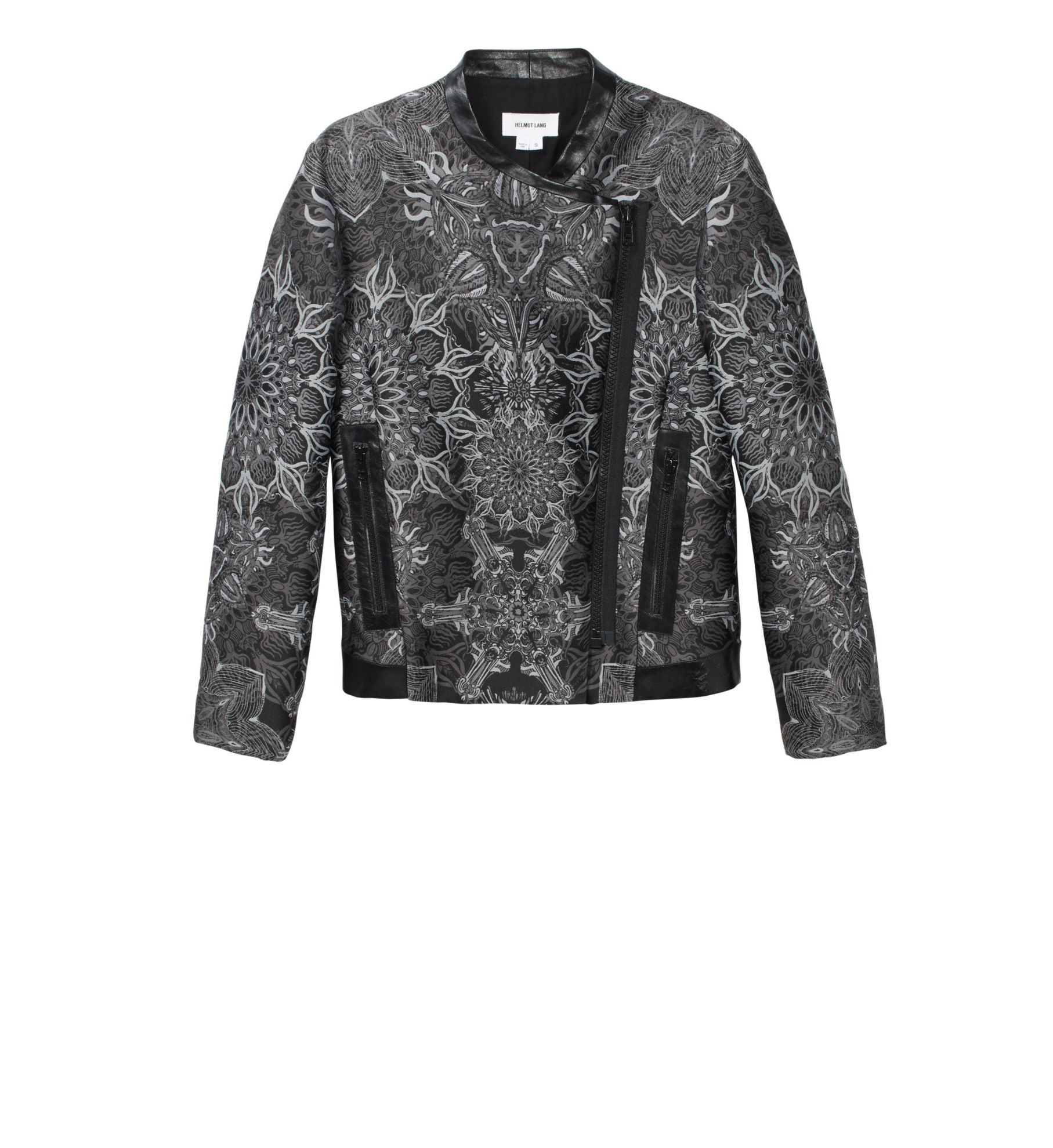MEDALLION JACQUARD JACKET
