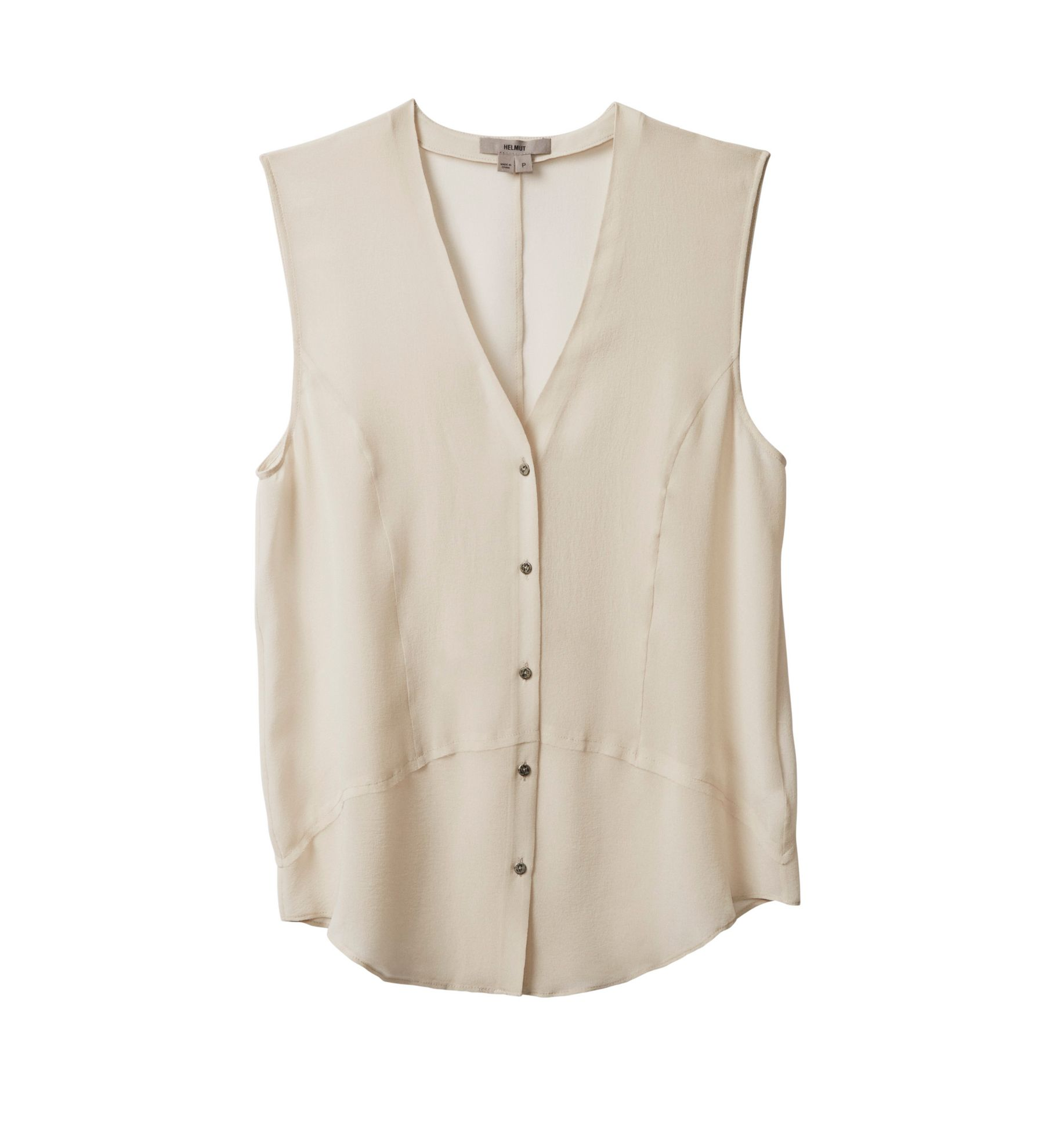 GHOST SILK SLEEVELESS TOP