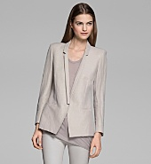 MATRIX LINEN SLIM BLAZER