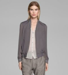 BREEZE SHEER BOMBER JACKET