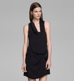 SOLAR DRAPE WRAP DRESS