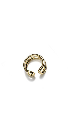 Giles & Brother Gold Mini Cortina Ring