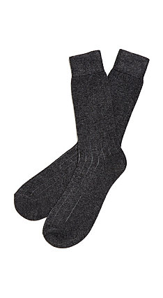 Etiquette x Theory - Mens Cashmere Socks
