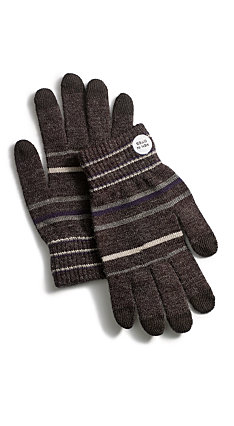 Men in Cities Wool Blend iPhone Gloves