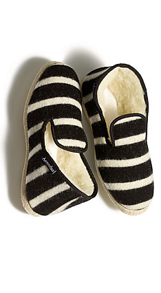 Womens Westerlind Armor Lux Wool Slipper