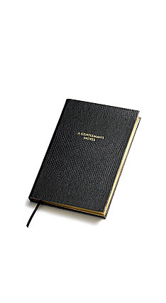 Sloane Stationary A Gentleman's Notes - Pocket Notebook