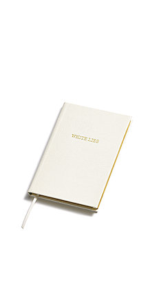 Sloane Stationary White Lies - Pocket Notebook
