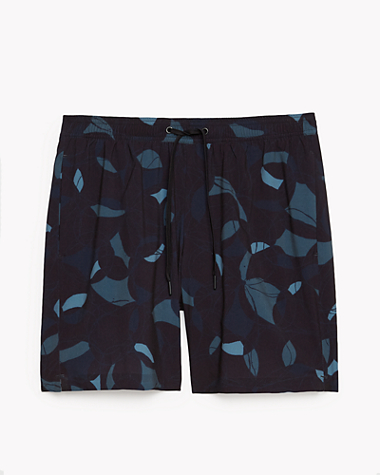 Onia x Theory Glass Print Swim Short