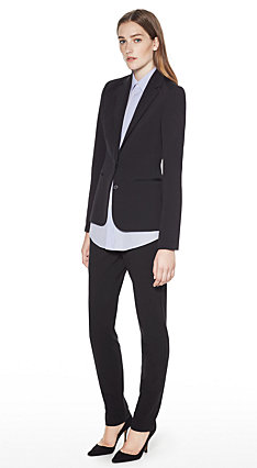 Minimal Jacket, Custom Top, Super Slim Pant