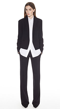 Tuxedo Jacket, Custom Top, Easy Pant