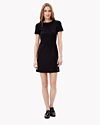 Technical Wool T Dress
