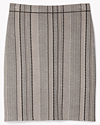 Knit Jacquard Geometric Skirt