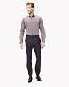 Silk-Wool Slim Trouser