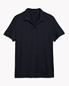 Modal Open Collar Polo