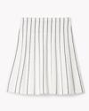 Luxe Knit Stripe Mini Skirt