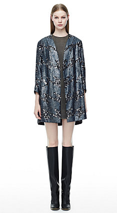 Melan Coat, Ducka Dress, Eames Boot