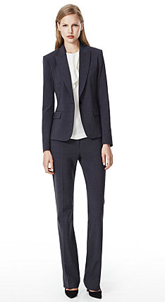 Charcoal Gabe B 2 Jacket & Max 2 Pant in Urban Stretch Wool