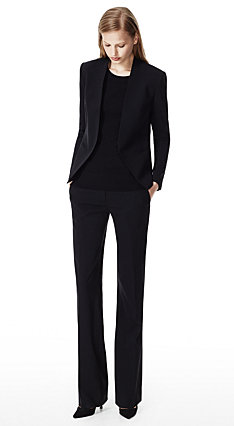 Black Lanai Jacket & Emery 2 Pant in Urban Stretch Wool