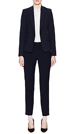 Navy Gabe Jacket & Belisa Pant in Neo Twill