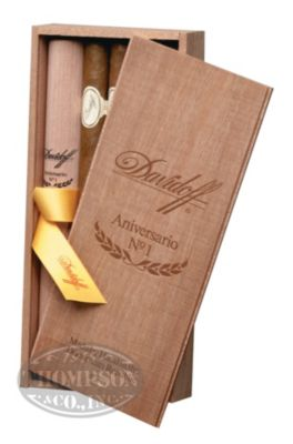 DAVIDOFF ANIVERSARIO SERIES NO.1 TUBO CONNECTICUT PRESIDENTE